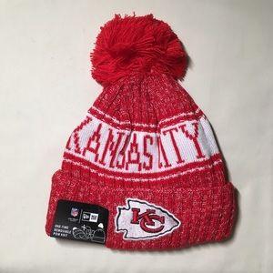 Kansas City Chiefs beanie hat